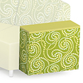 Russwood® Palette™ Soft Lounge Seating - Upholsterd Arm, Vinyl