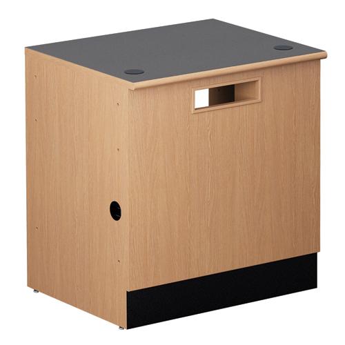 "Nautilus™ Circulation Desk - 32""H x 36""W x 30""D Book Return"