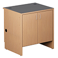 Nautilus™ Wood Circulation Desk - 32