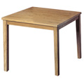 JSI Lincoln Library Table - 42 in. Square