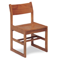 JSI Class Act Wood Library Chair