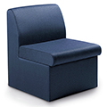 GLOBAL Braden™ Modular Lounge Seating - Armless Single Chair