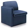 GLOBAL Braden™ Modular Lounge Seating - Single Seat with Right Arm