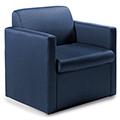 GLOBAL Braden™ Modular Lounge Seating - Single Seat with Arms