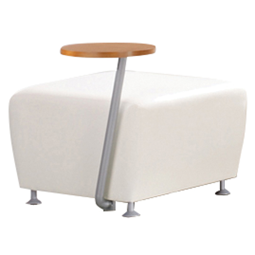 JSI Encore Tablet Arm Chair - Fabric Bench, Right Hand Tablet
