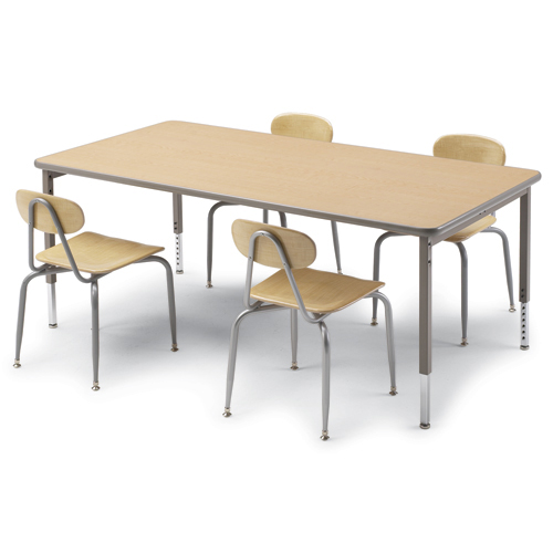 SMITH SYSTEM™ Library Reading Table - Rectangular