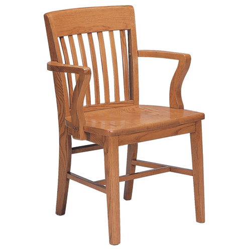 JSI Americana Library Chair - With Arms
