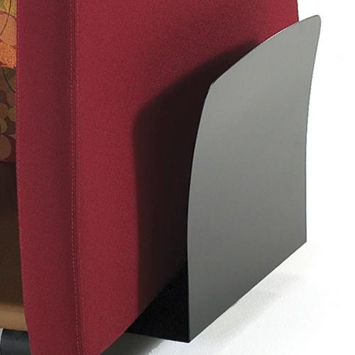 HPFI® Genesis Mobile Team Chair - Newspaper Holder
