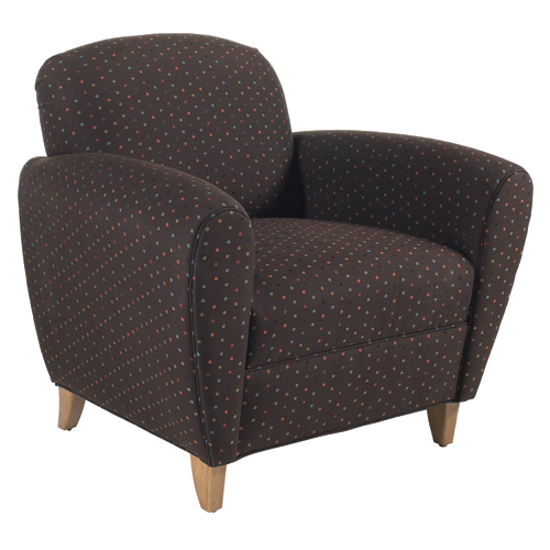 HPFI® Lauren Lounge Seating - Leather Club Chair