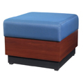 HPFI® Modular Lounge Seating - 1 Seat Bench, Leather