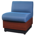 HPFI® Modular Lounge Seating -  Lounge Chair, Leather