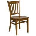 Hercules Vertical Back Chair - Wood