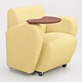 COMMUNITY Encore Tablet Arm Chair - Fabric Arms, Right Hand Folding Tablet