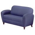 HPFI® Lauren Lounge Seating - Leather Loveseat