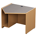 Russwood® Elite™ Angled Workstation - Left, Starter