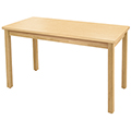 Allied Wood Library Table - Rectangular