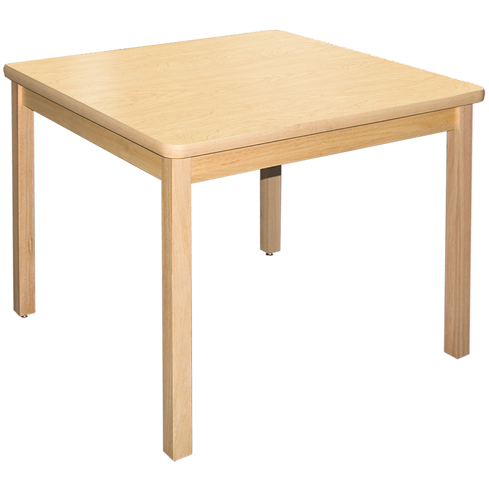 Allied Wood Library Tables - 24 in. Square