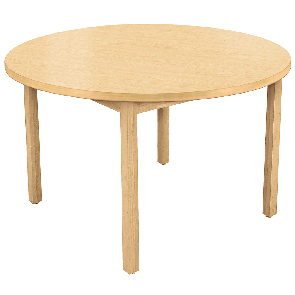 Allied Wood Library Table - Round