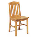 JSI Addison Library Chair - All Wood