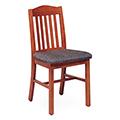 JSI Addison Library Chair - Fabric Seat