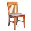 JSI Americana Library Chair - Without Arms and Fabric Seat