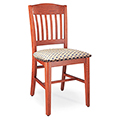 JSI Americana Library Chair - Americana ll with Fabric Seat