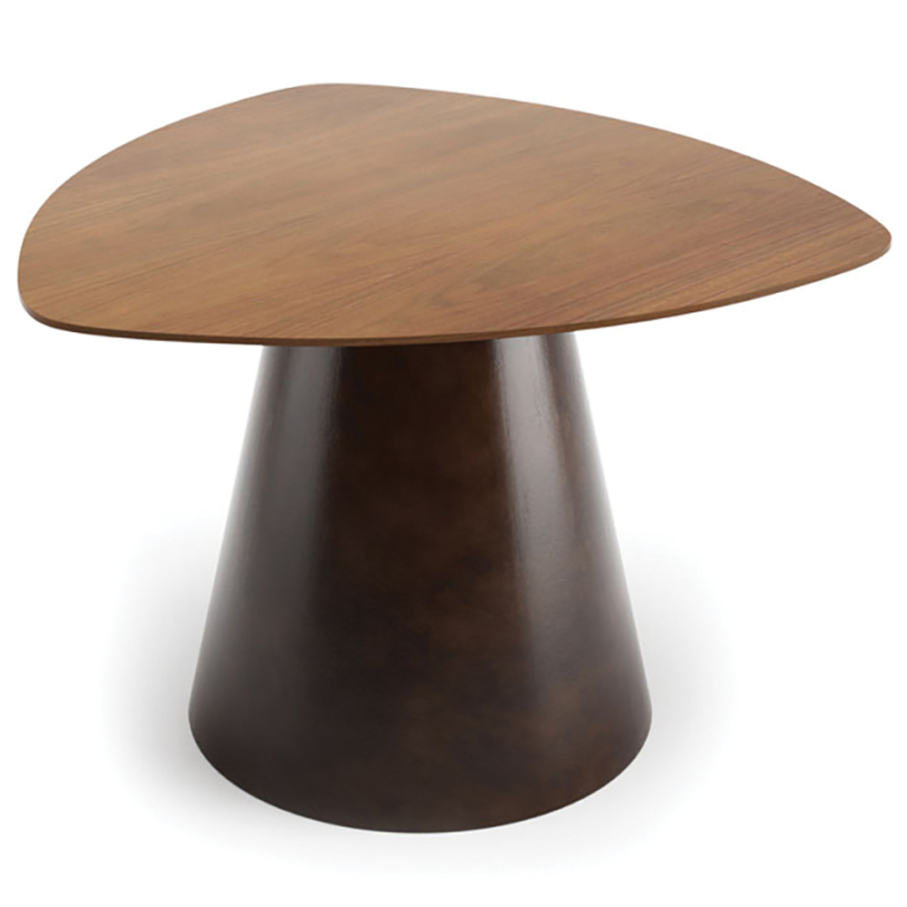 "JSI Moto Lounge Seating - 26"" Triangle Conical Base Table"