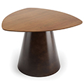 JSI Moto Lounge Seating - 26 Triangle Conical Base Table