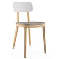 JSI Jude Chair - Fabric Seat & Plastic Back