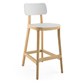 JSI Jude Stool - Plastic Seat and Back