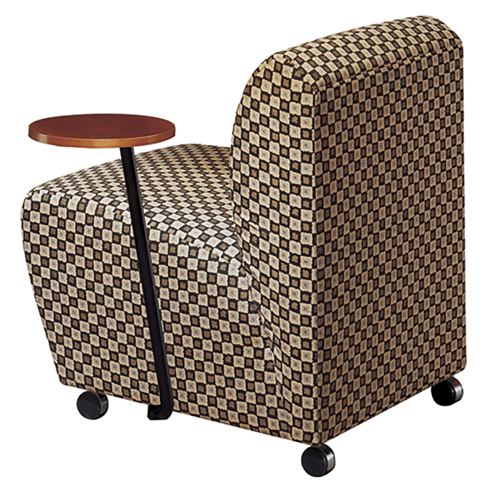 JSI Encore Tablet Arm Chair - No Arms, Left Hand Tablet, Leather
