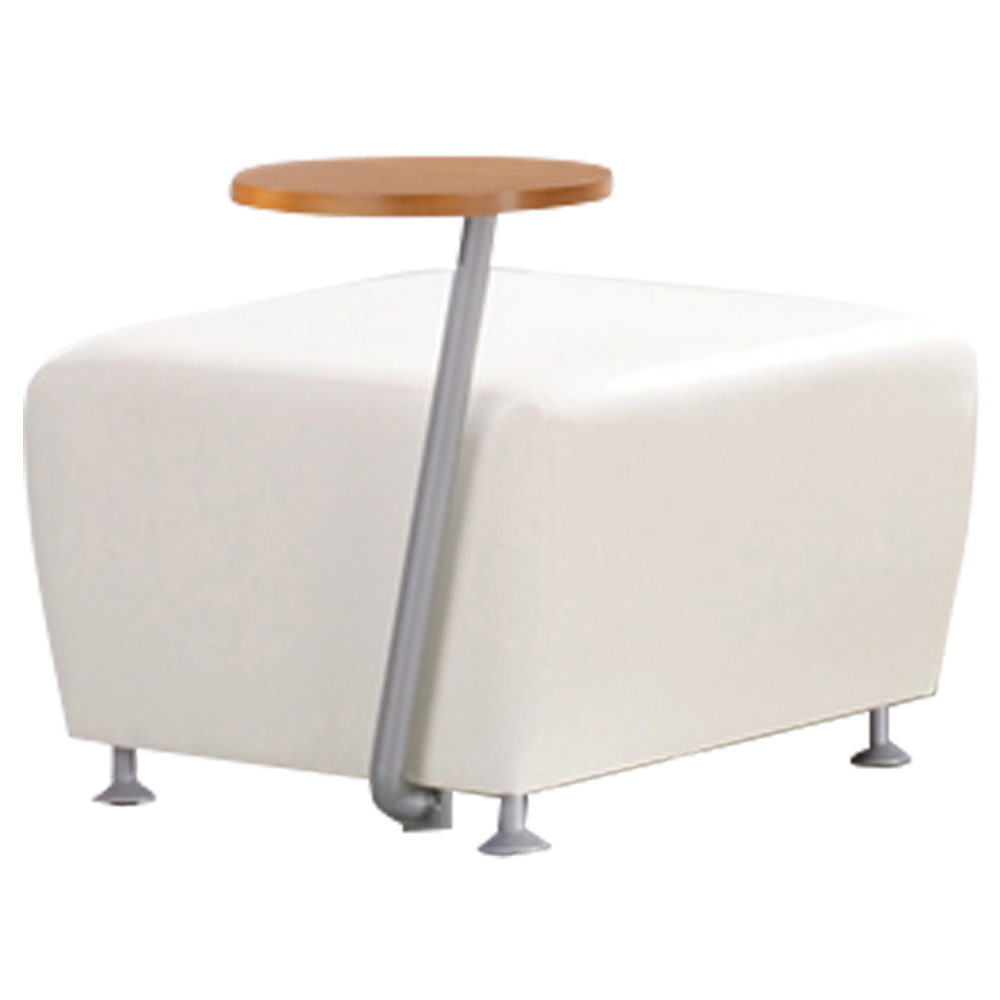 JSI Encore Tablet Arm Chair - Leather Bench, Right Hand Tablet