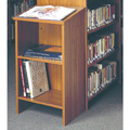 IRONWOOD Glacier™ Dictionary Stand - 35 in.H