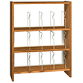 IRONWOOD Glacier™ Laminate Picture Book Library Shelving - 48H x 12D Single-Face Starter