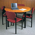 IRONWOOD Glacier™ Library Table - Round