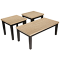 Wilder 3 Piece Occasional Table Set
