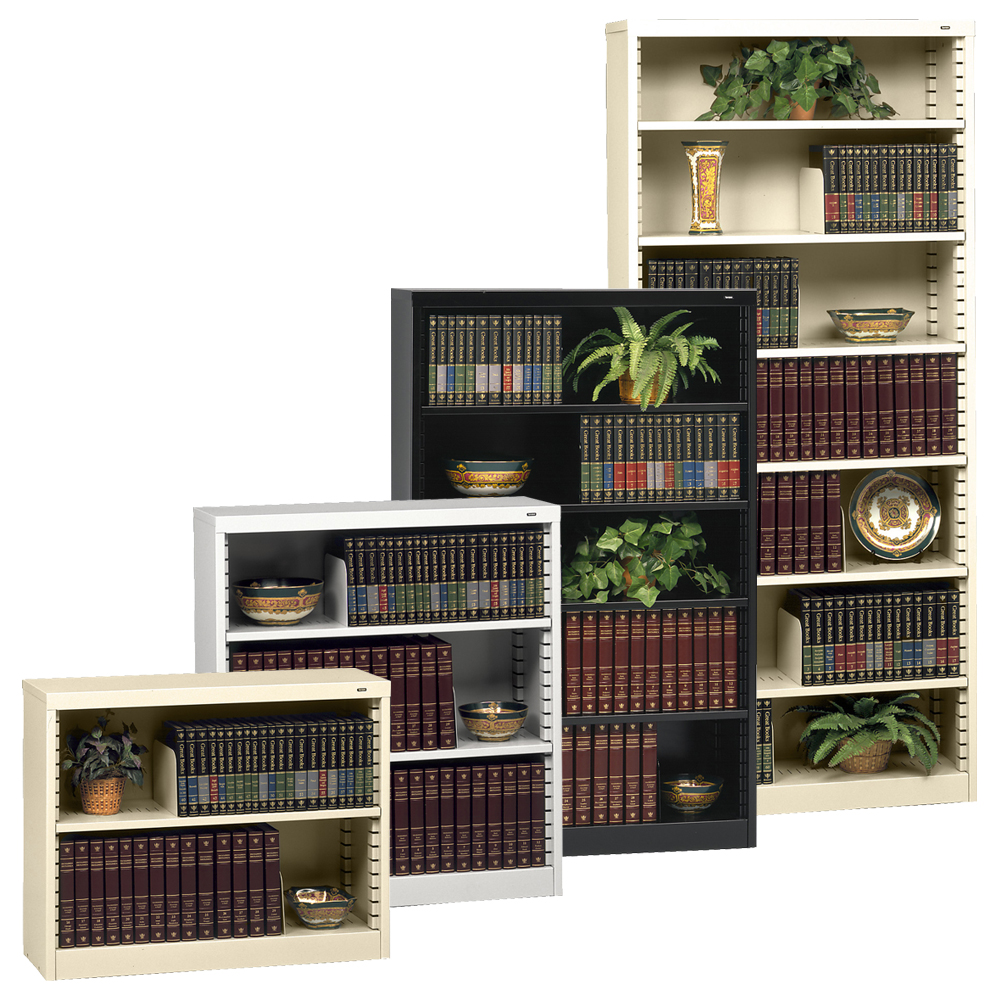 tennsco™ Bookcase Library Shelving