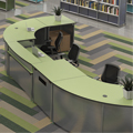 Paragon Information Commons Circulation Desk