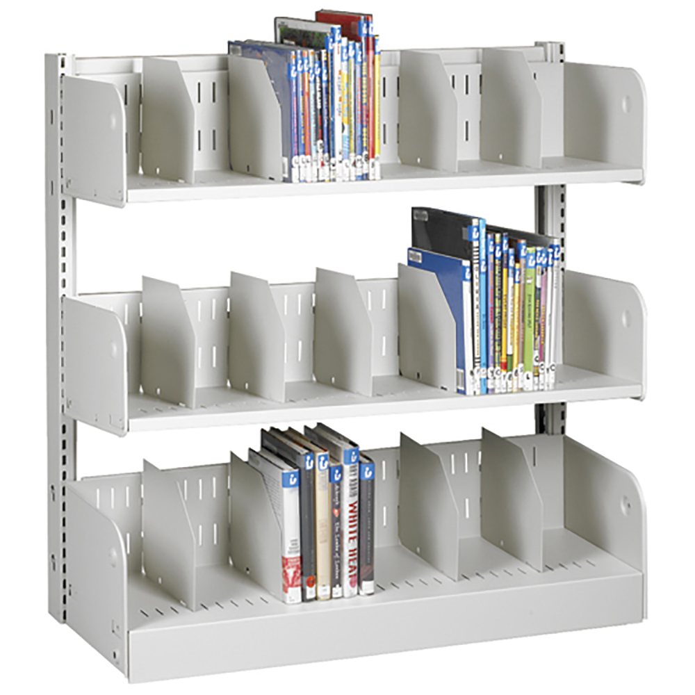 estey® Steel Cantilever Picture Book Library Shelving - Single-Face