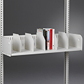 estey® Steel Cantilever Library Shelving - Picture Book Shelves