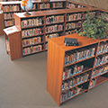 Laminate Library Shelving