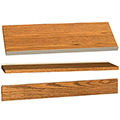 IRONWOOD Glacier™ Laminate Library Shelving Accessories