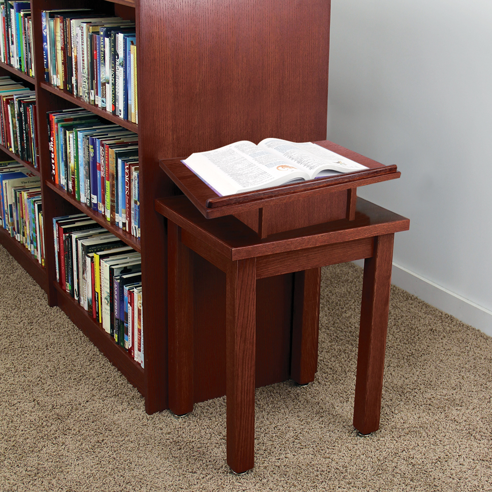 Atlantis™ Revolving Dictionary Stand & Utility Table