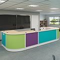 Russwood Palette Circulation Desk