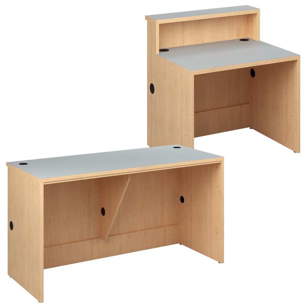 Reference Desks for Russwood® Palette™ Wood Circulation Desk