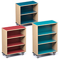 Russwood® Palette™ Straight Mobile Shelving