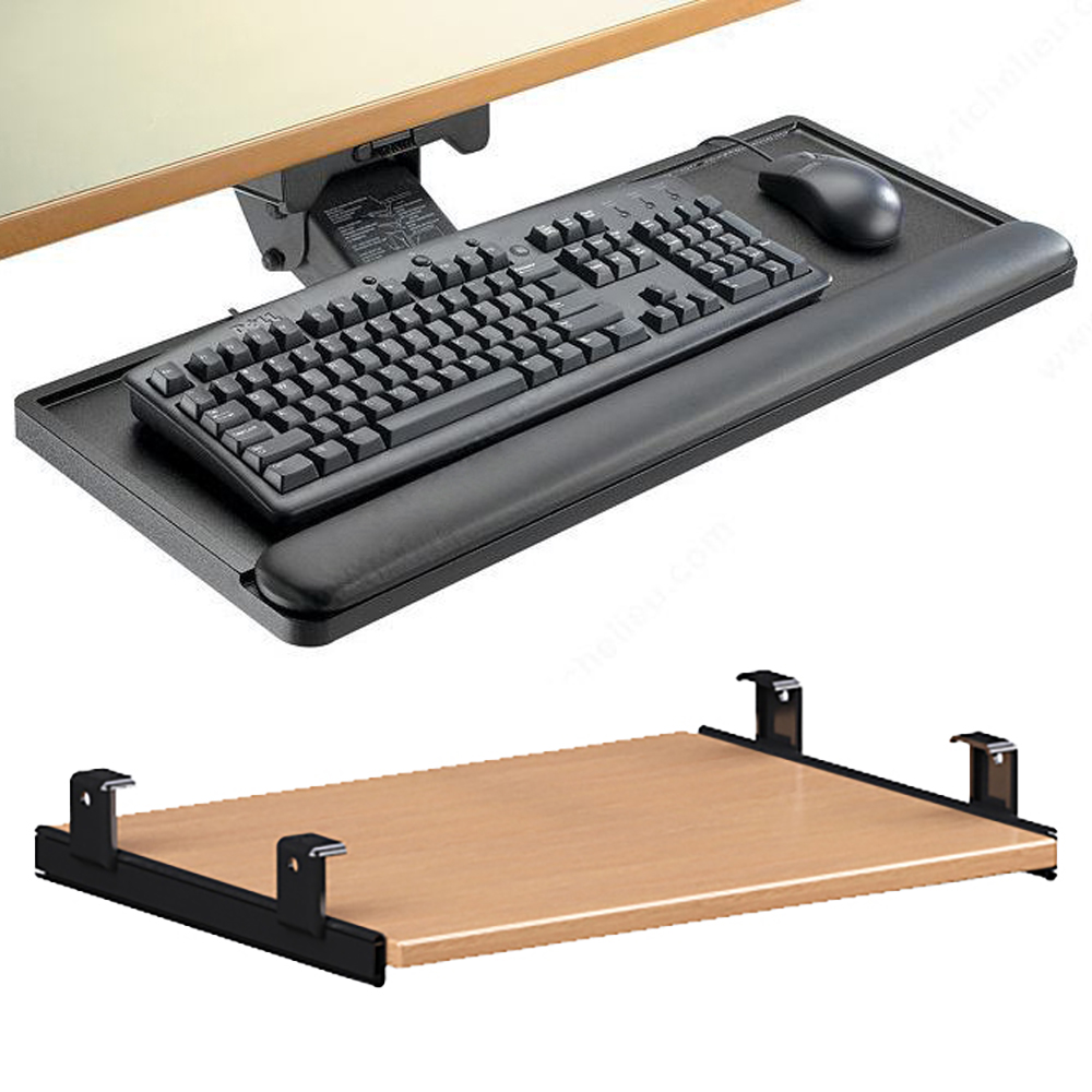 TLS™ Universal Keyboard Trays for Atlantis or Nautilus Circulation Desks