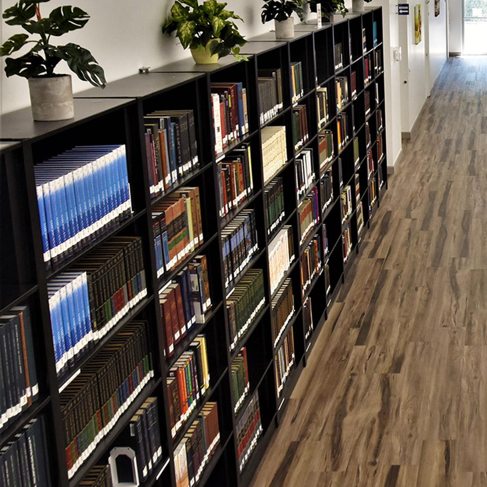 Aurora Quik-Lok® Steel Library Shelving - Single-Faced