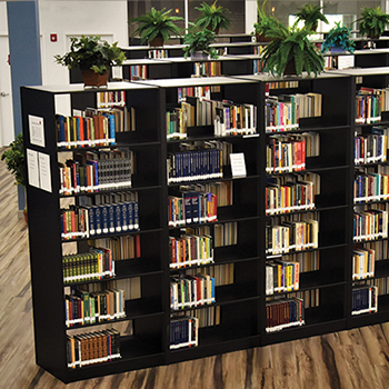 Aurora Quik-Lok® Steel Library Shelving - Double-Face