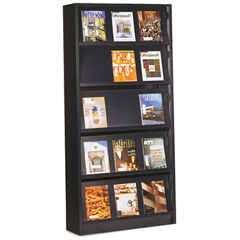 Aurora Quik-Lok® Steel Magazine Shelving - Single-Face